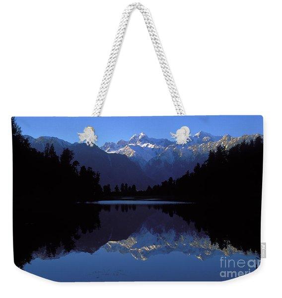 New Zealand Alps Weekender Tote Bag
