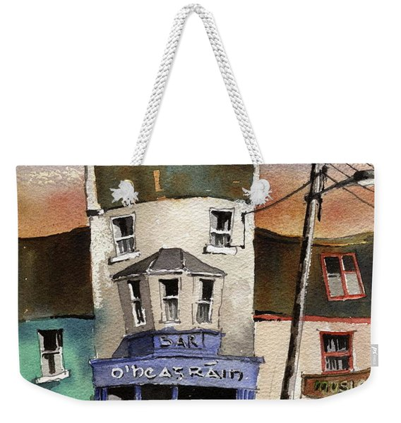O Heagrain Pub Viewed 115737 Times Weekender Tote Bag