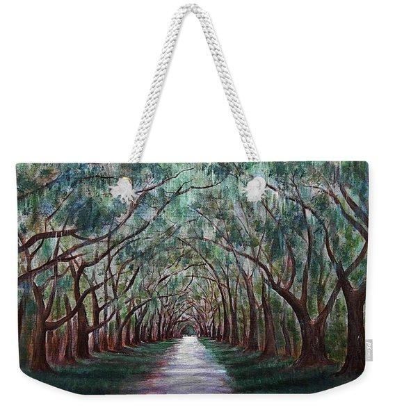 Oak Avenue Weekender Tote Bag