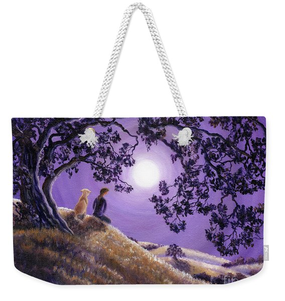 Oak Tree Meditation Weekender Tote Bag