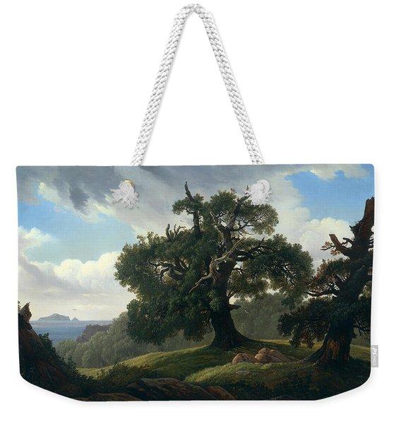 Oak Trees By The Sea Weekender Tote Bag