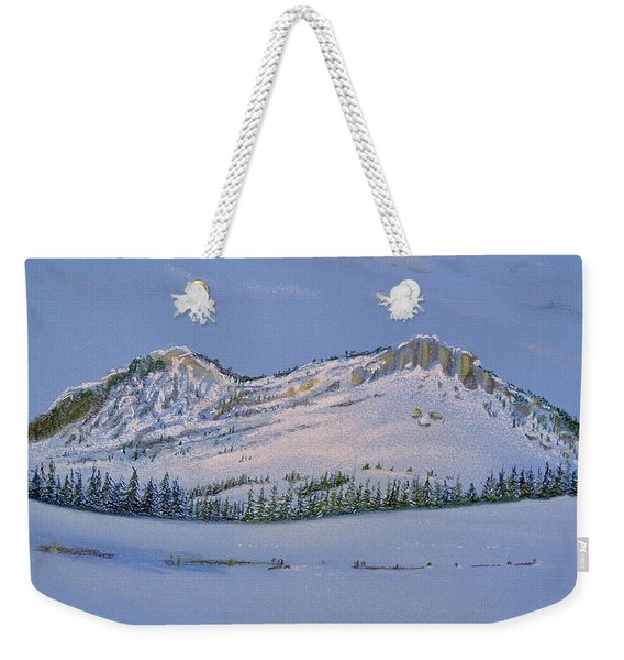 Observation Peak Weekender Tote Bag