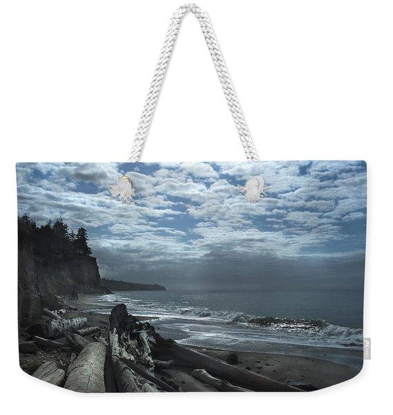 Ocean Beach Pacific Northwest Weekender Tote Bag