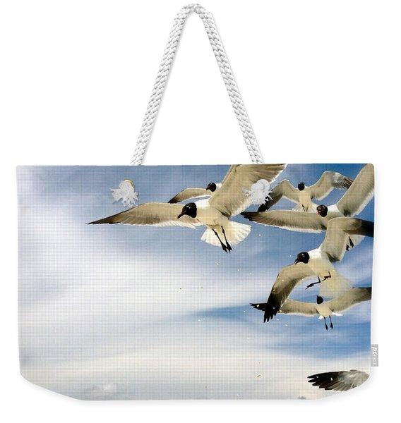 Ocean Birds Weekender Tote Bag
