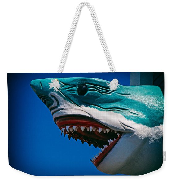 Ocean City Shark Attack Weekender Tote Bag