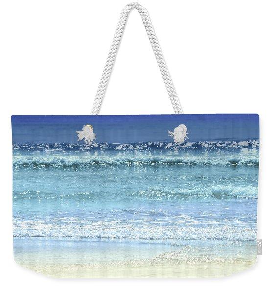 Ocean Colors Abstract Weekender Tote Bag