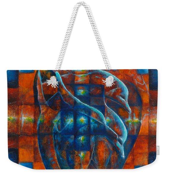 Ocean Flight Weekender Tote Bag