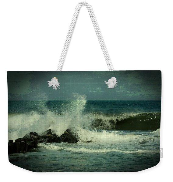 Ocean Impact - Jersey Shore Weekender Tote Bag