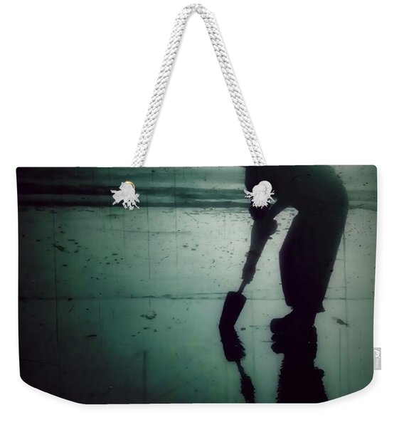 Weekender Tote Bag featuring the photograph Ocean Shores Clam Dig by Patricia Strand