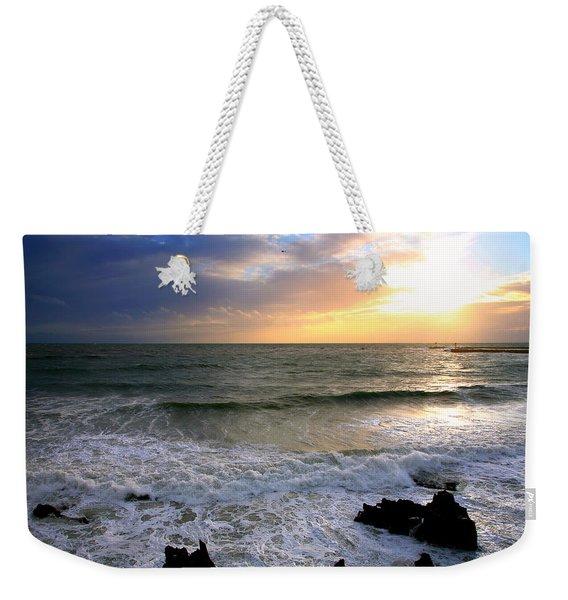 Ocean Sunset 84 Weekender Tote Bag