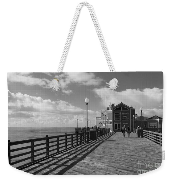 Oceanside Pier Weekender Tote Bag