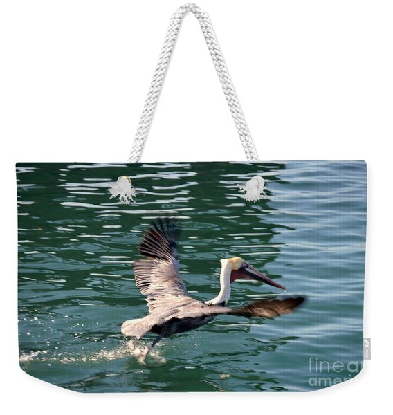 Weekender Tote Bag featuring the photograph Oceanside  by Laurie Lundquist