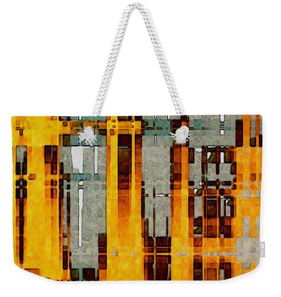 Ochre Urbanity Weekender Tote Bag