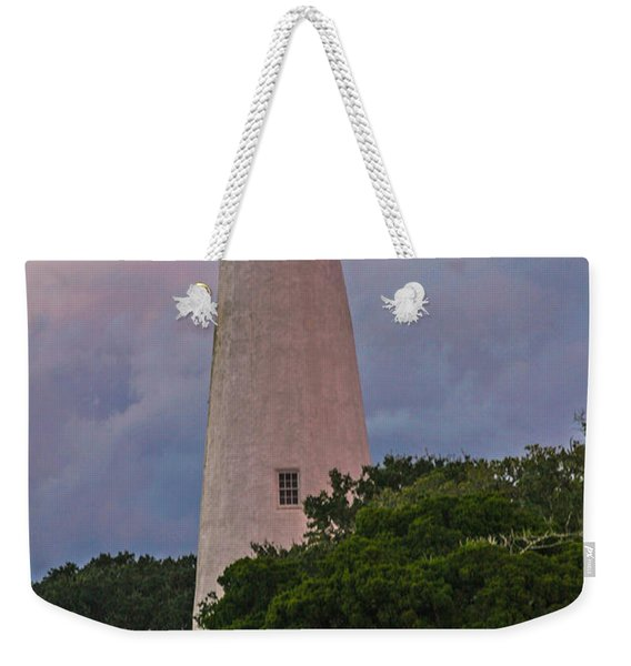 Ocracoke Lighthouse Weekender Tote Bag