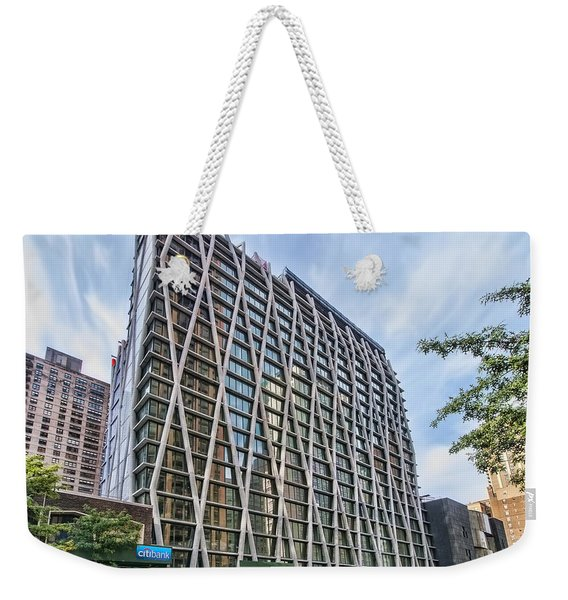 Oct 2014 Front View Weekender Tote Bag