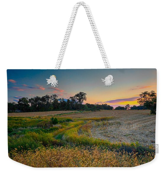 October Evening On The Farm Weekender Tote Bag