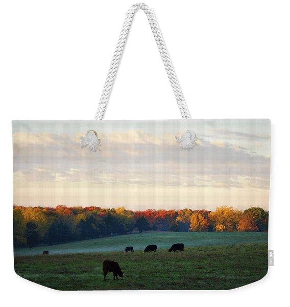 October Morning Weekender Tote Bag
