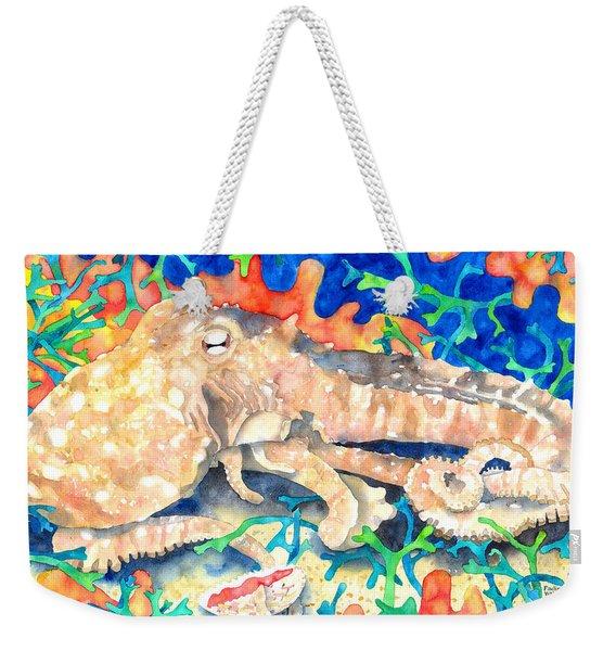 Octopus Delight Weekender Tote Bag