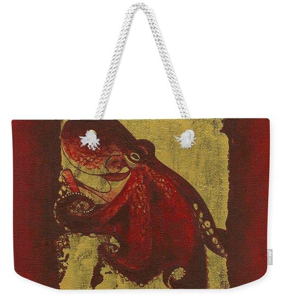 Octopus Weekender Tote Bag