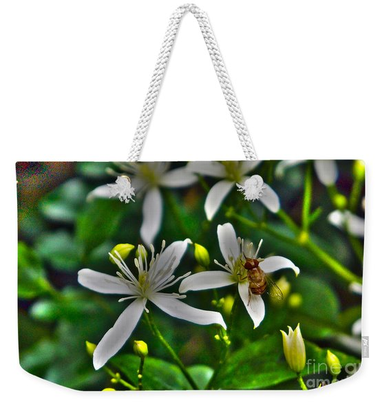Odd Beauty Weekender Tote Bag