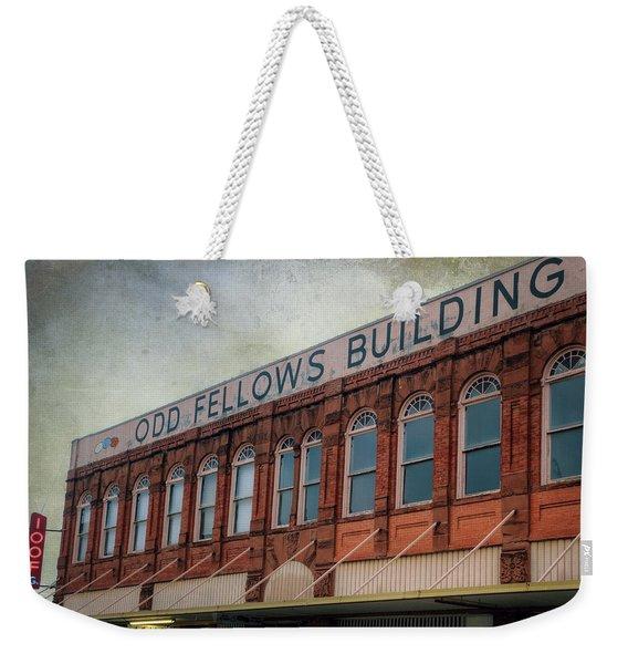Odd Fellows Weekender Tote Bag
