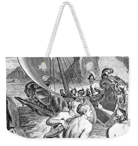 Odysseus Escapes Charms Of The Sirens Weekender Tote Bag