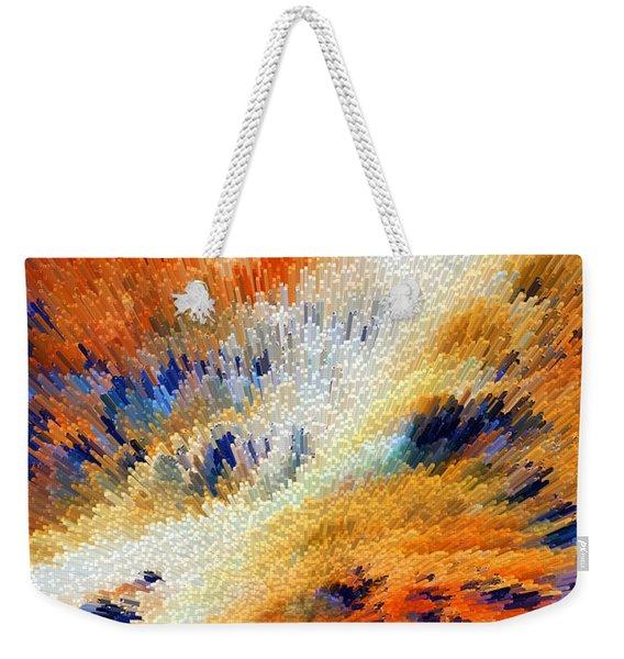 Odyssey - Abstract Art By Sharon Cummings Weekender Tote Bag