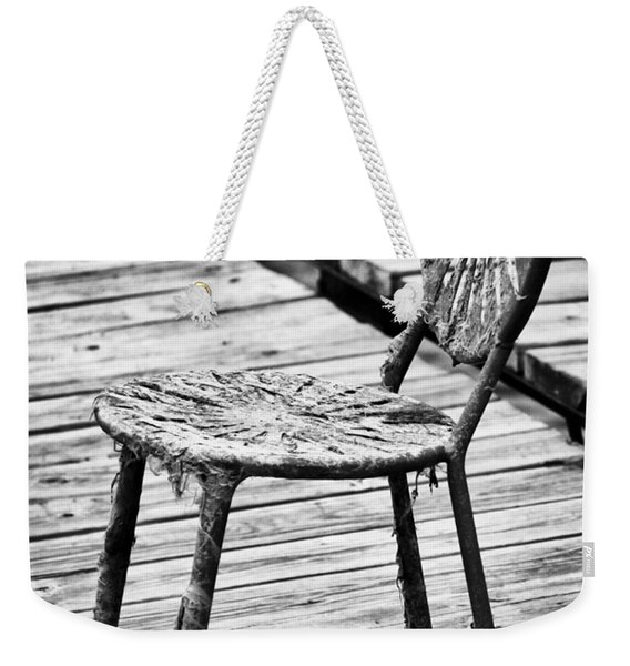 Off-season Grunge Weekender Tote Bag