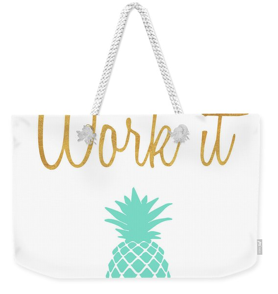 Office Pop II Weekender Tote Bag