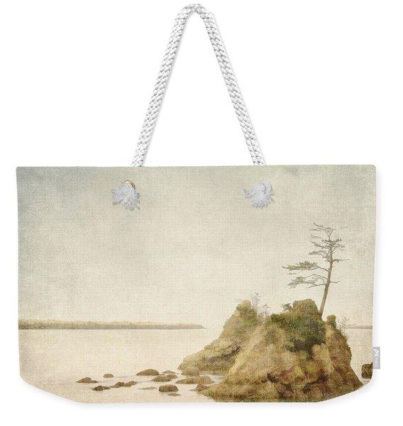Offshore Rocks Oregon Coast Weekender Tote Bag