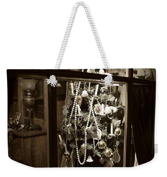 Oh Christmas Tree - Sepia Weekender Tote Bag