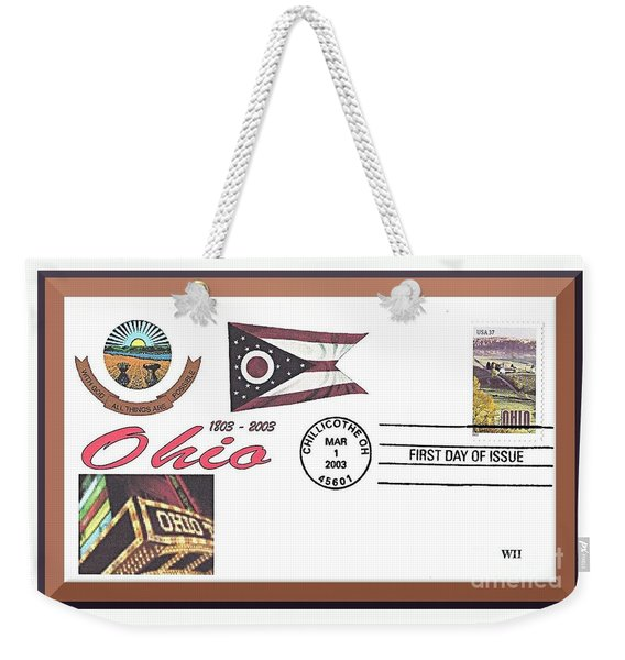 Ohio Bicentennial Cover #2 Weekender Tote Bag