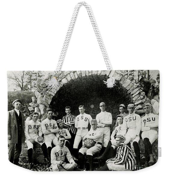 Ohio State Football Circa 1890 Weekender Tote Bag