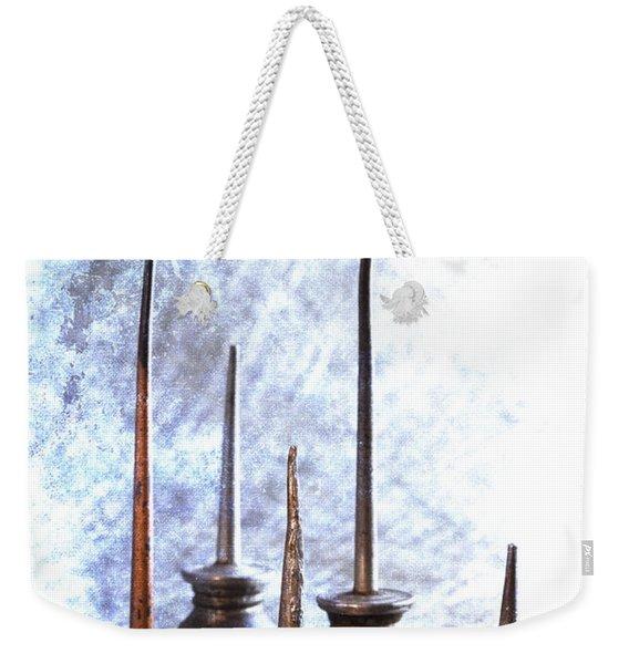 Oil Cans Weekender Tote Bag