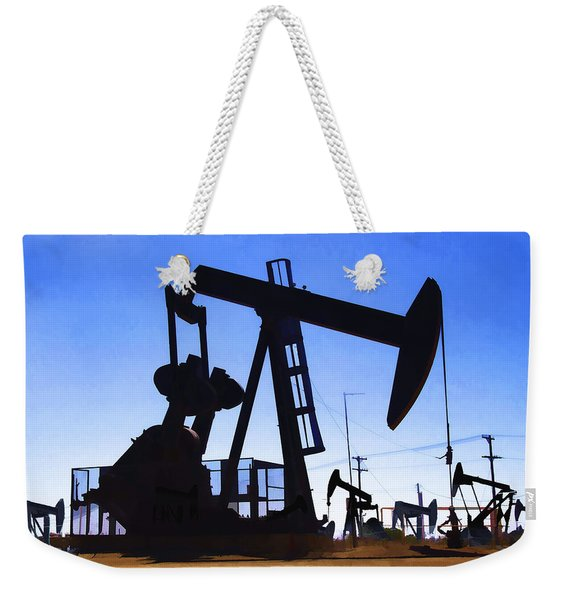 Oil Fields Weekender Tote Bag