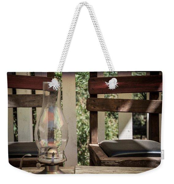 Oil Lamp 2 Weekender Tote Bag