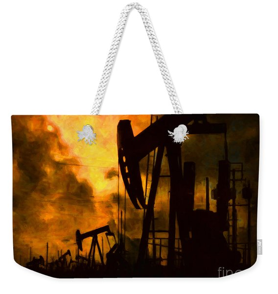 Oil Pumps Weekender Tote Bag