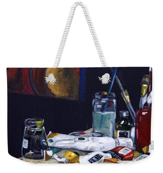 Oils Still Life Weekender Tote Bag