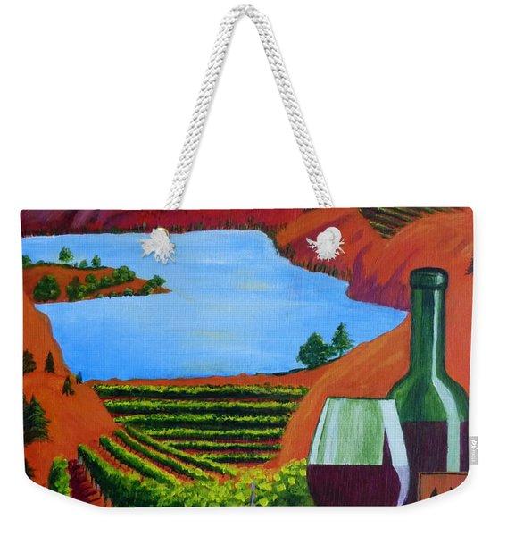 Okanagan Wine Country Weekender Tote Bag