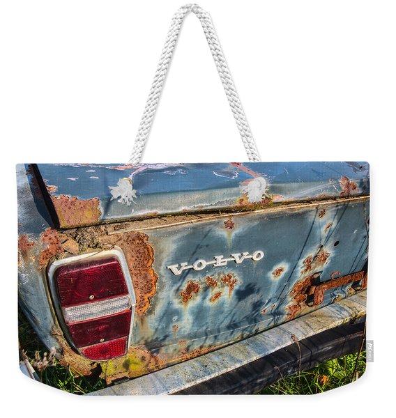 Old Aged Weekender Tote Bag