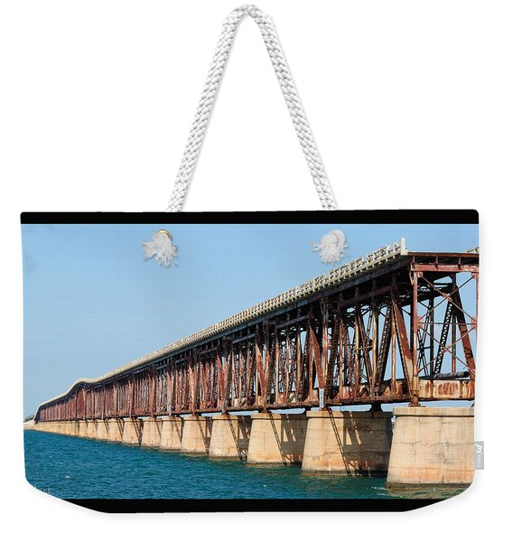 Old Bahia Honda Bridge 2 Weekender Tote Bag