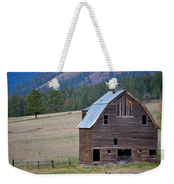 Old Barn In Washington Weekender Tote Bag