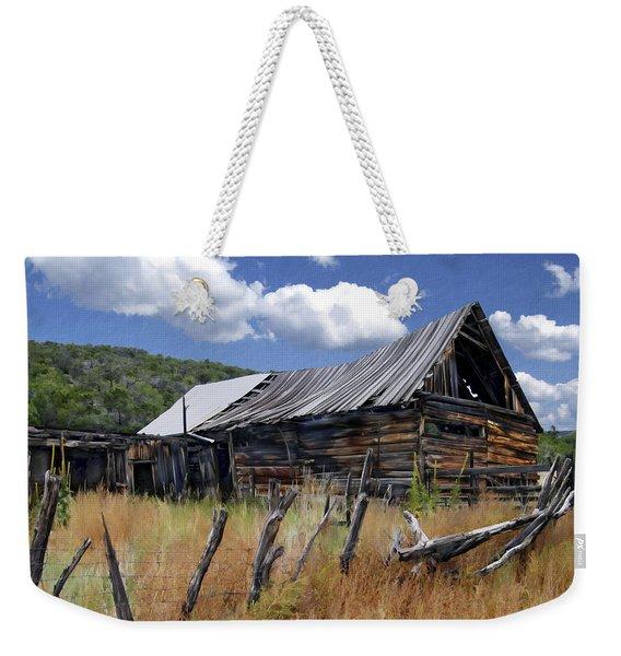 Old Barn Las Trampas New Mexico Weekender Tote Bag