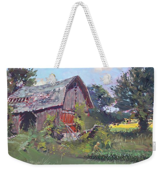 Old Barns  Weekender Tote Bag