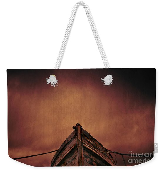 Old Boat Weekender Tote Bag