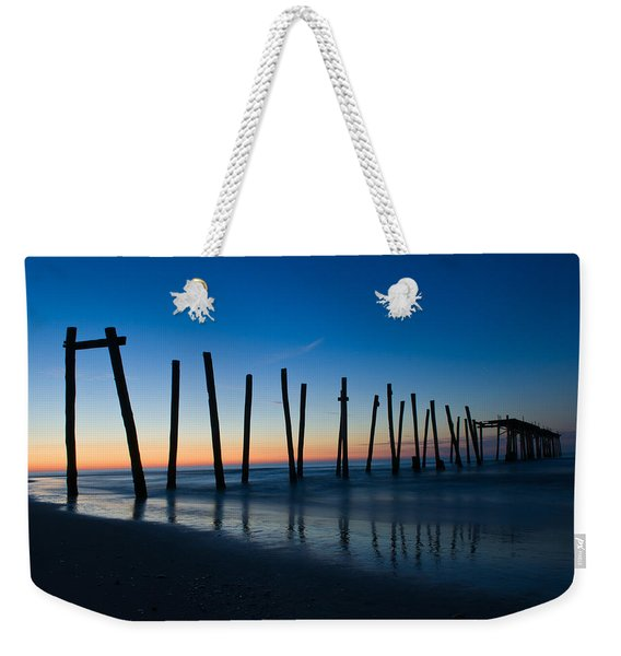Old Broken 59th Street Pier Weekender Tote Bag