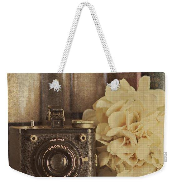 Old Brownie Weekender Tote Bag