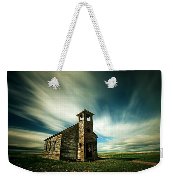 Old Cottonwood Church Weekender Tote Bag
