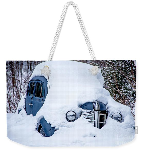 Old Coupe Weekender Tote Bag