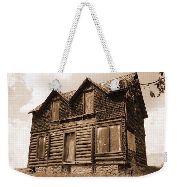 Old Cripple Creek Cabin Weekender Tote Bag